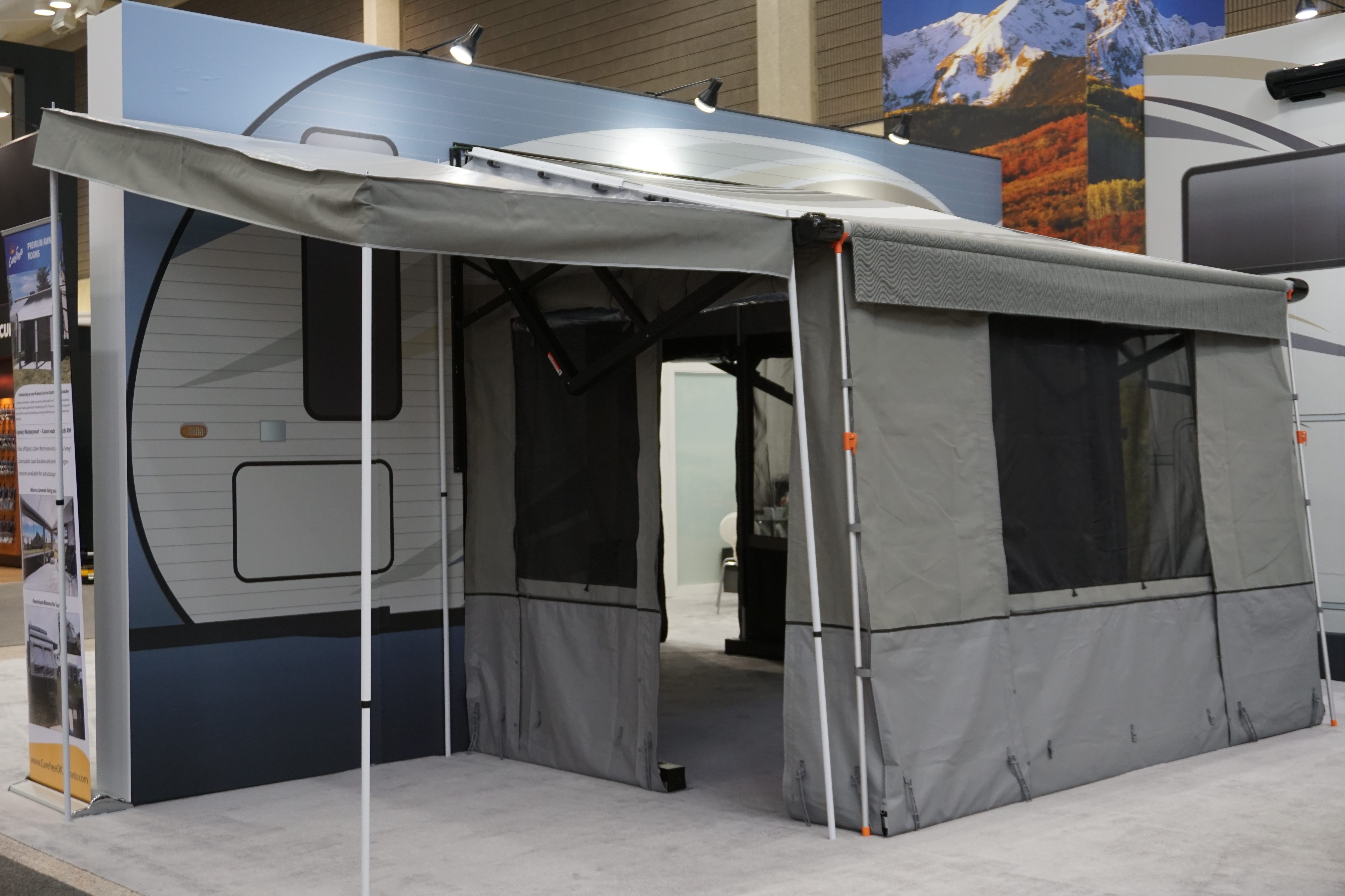 An Awning Room Is A Great Way To Add Additional Living Space Your Motorhome Or Travel Trailer Without Having Upsize RV