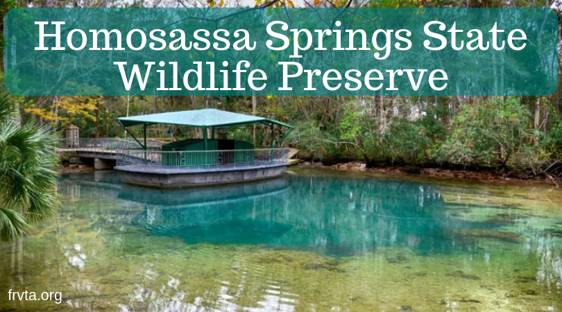 Homosassa Springs State Wildlife Park Florida Rv Trade