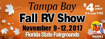 Tampa Bay Fall Rv Show Florida Rv Trade